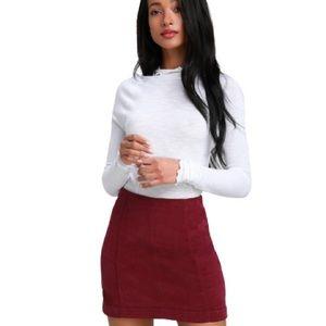 Free people Modern Femme Corduroy Mini Skirt  2